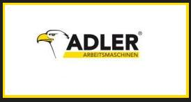 ADLER ARBEITSMASCHINEN EXPORT FROM GERMANY